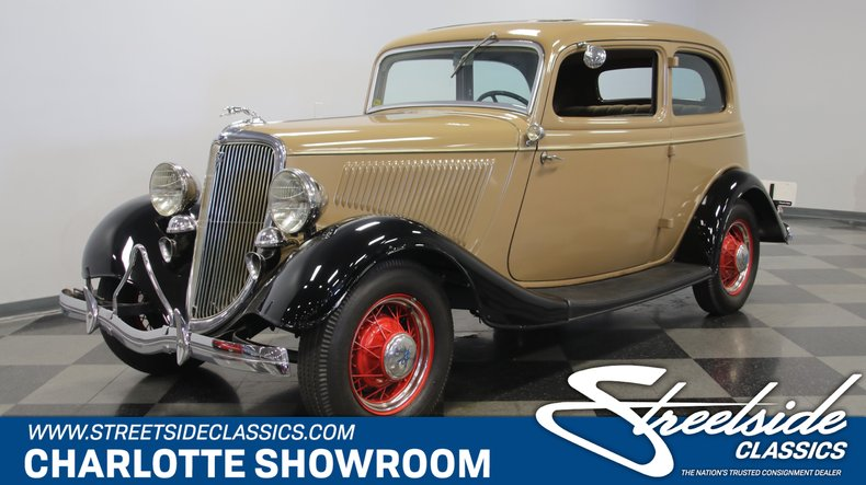 For Sale: 1934 Ford Victoria