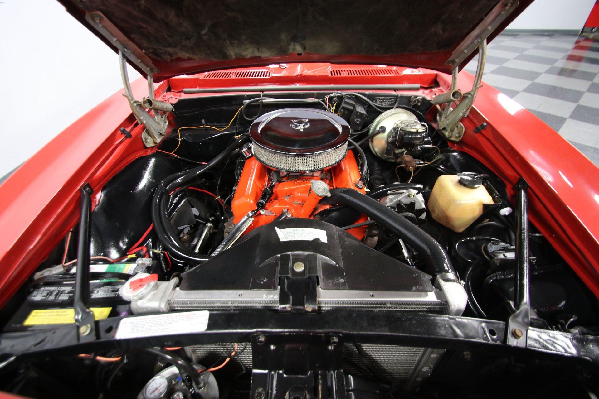 1968 chevrolet camaro rs convertible