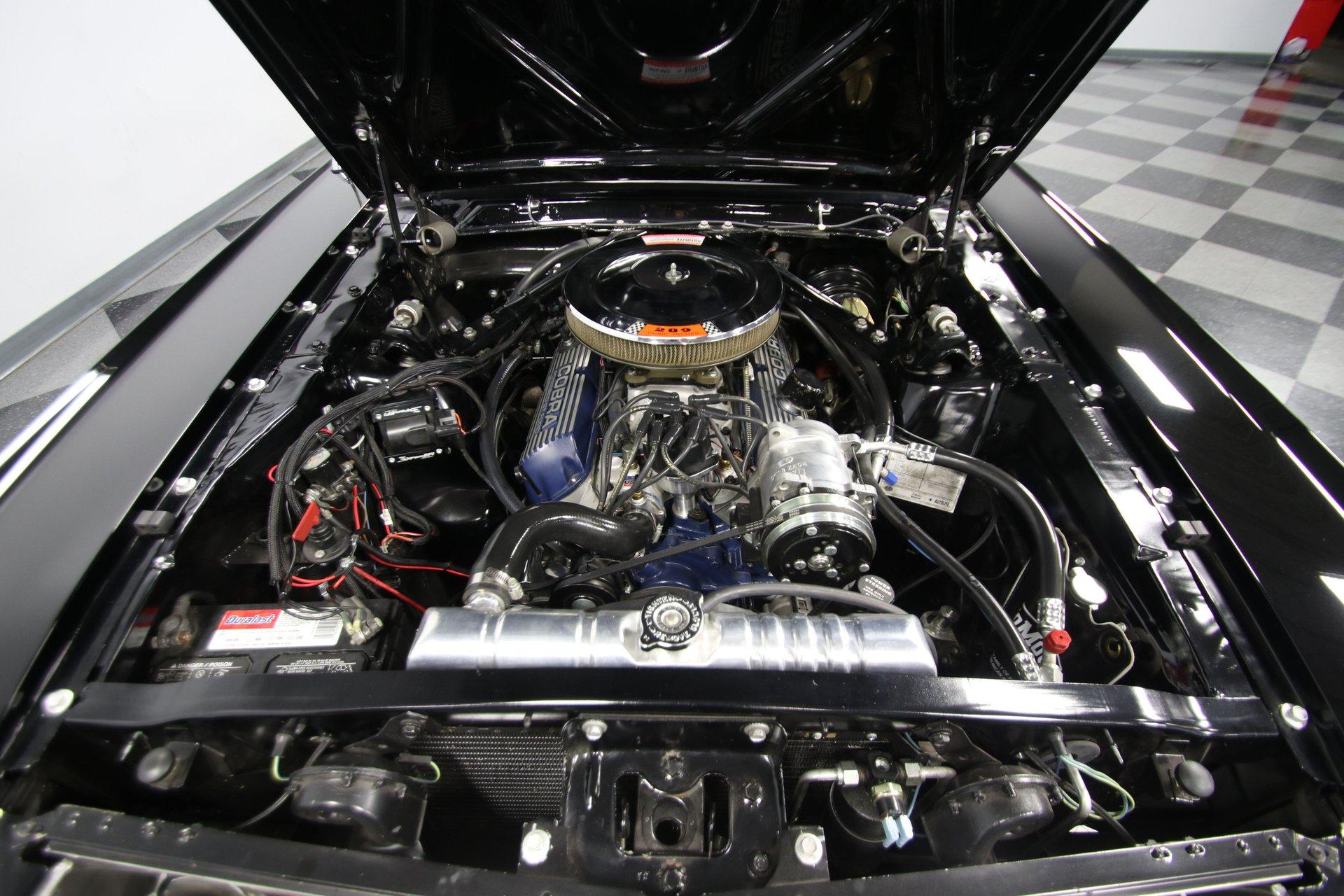 1966 ford mustang gt fastback restomod