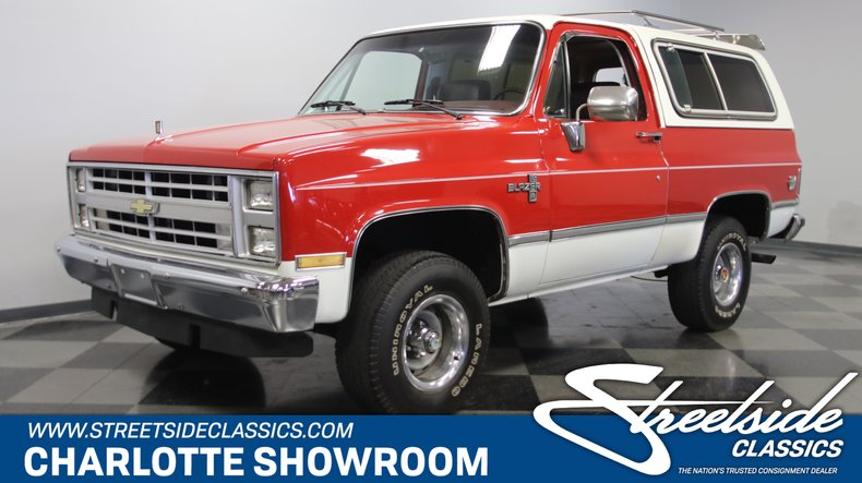 For Sale: 1985 Chevrolet Blazer