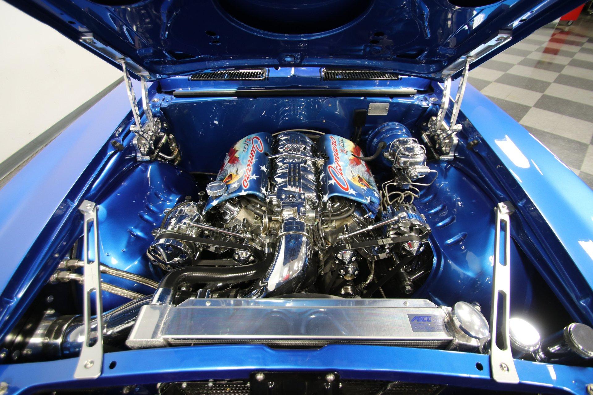 1969 chevrolet camaro z 28 restomod tribute