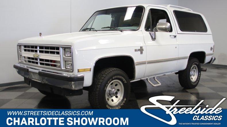 For Sale: 1988 Chevrolet Blazer