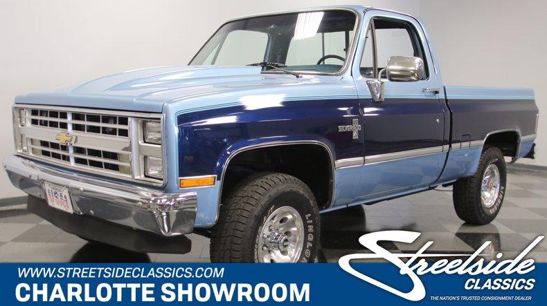 For Sale: 1986 Chevrolet K10