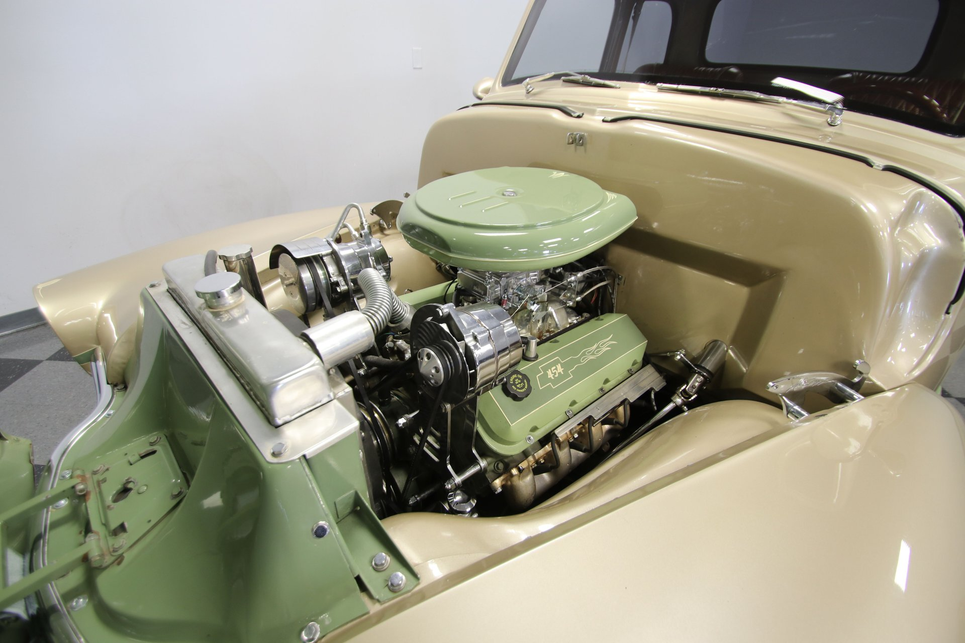 1948 chevrolet 3100 5 window restomod