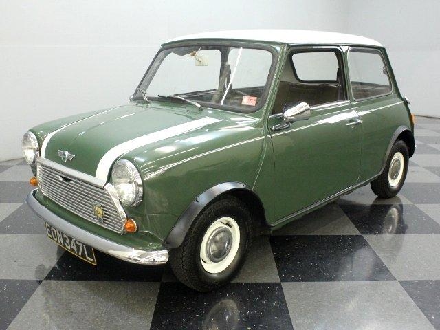 For Sale: 1972 Morris Mini
