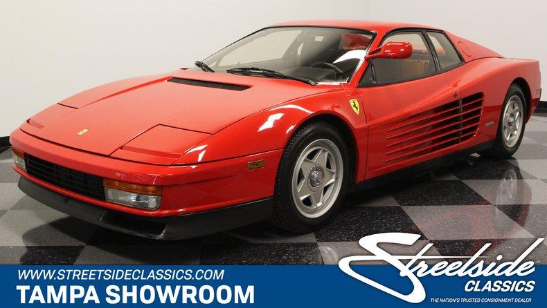 For Sale  Ferrari Testarossa