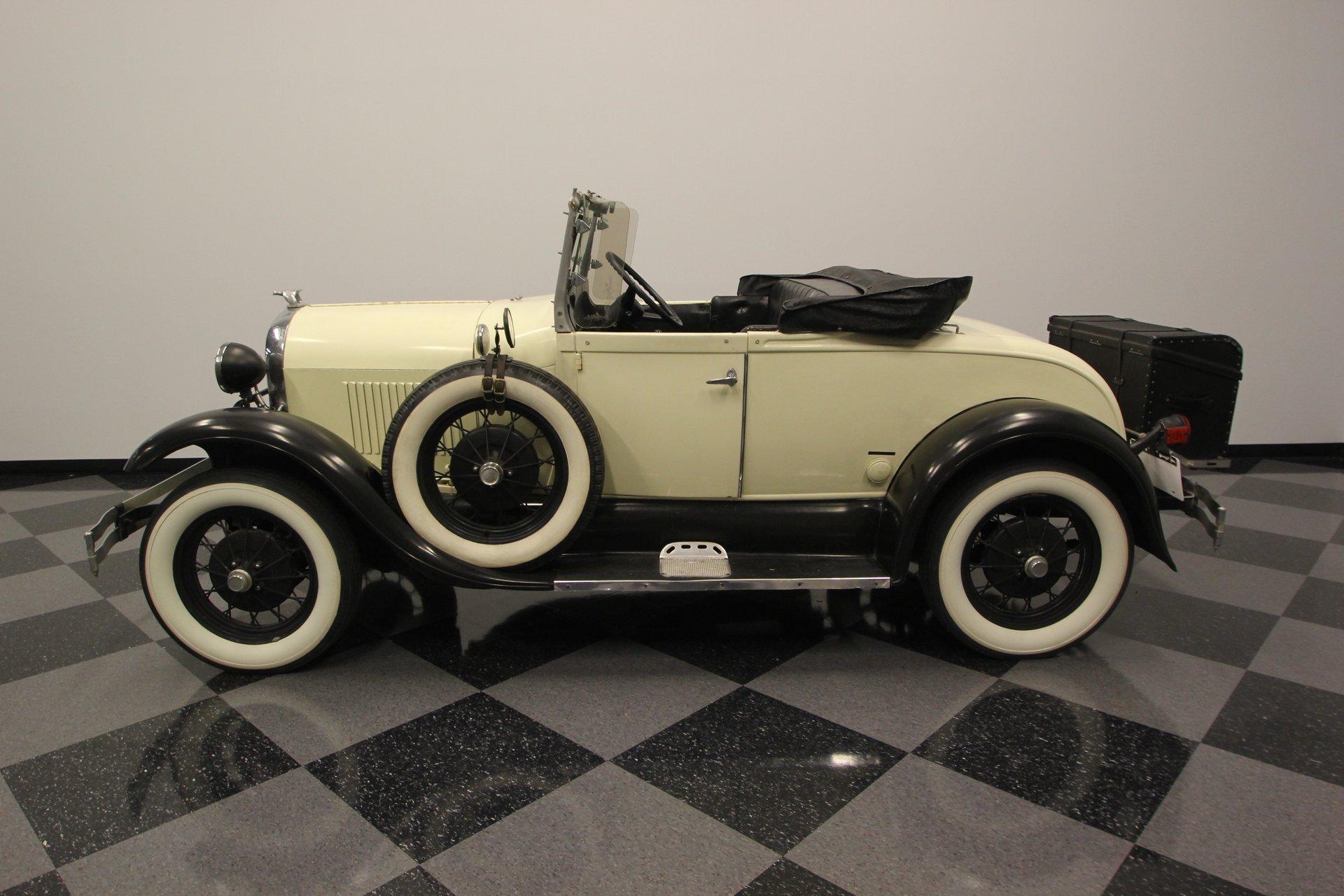 1929 ford model a shay replica