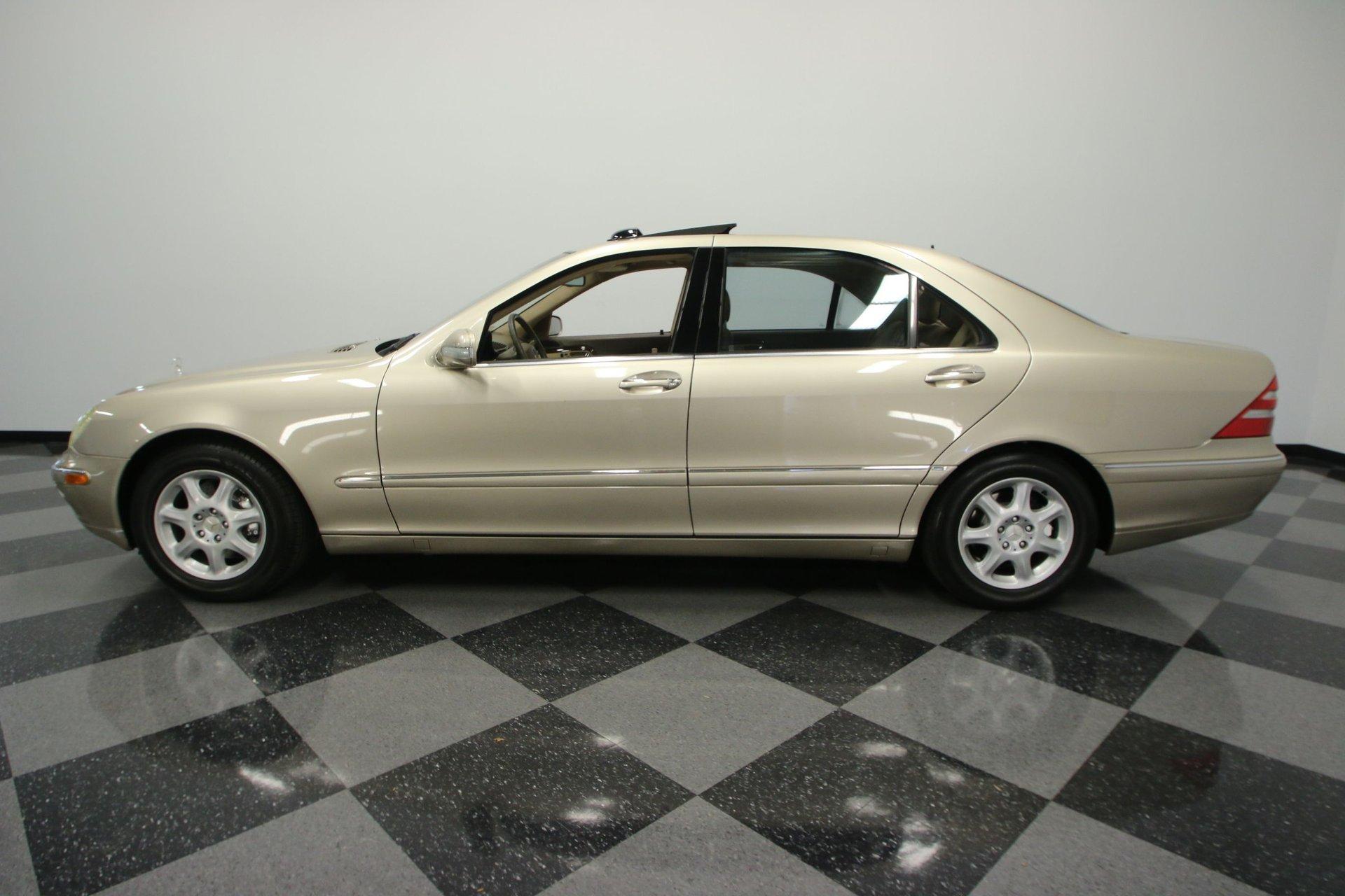 2001 mercedes benz s500