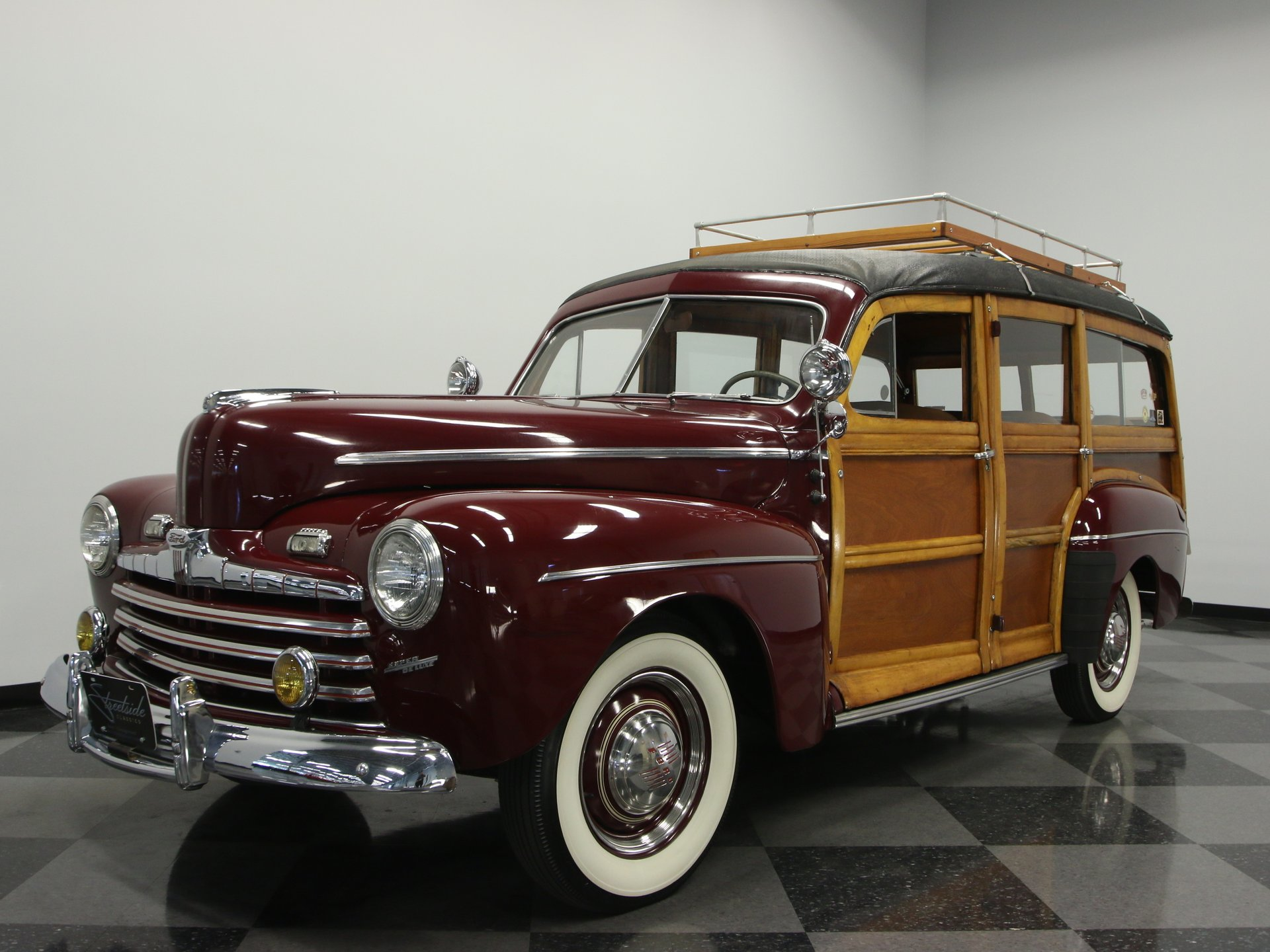 1947 ford super deluxe woody wagon