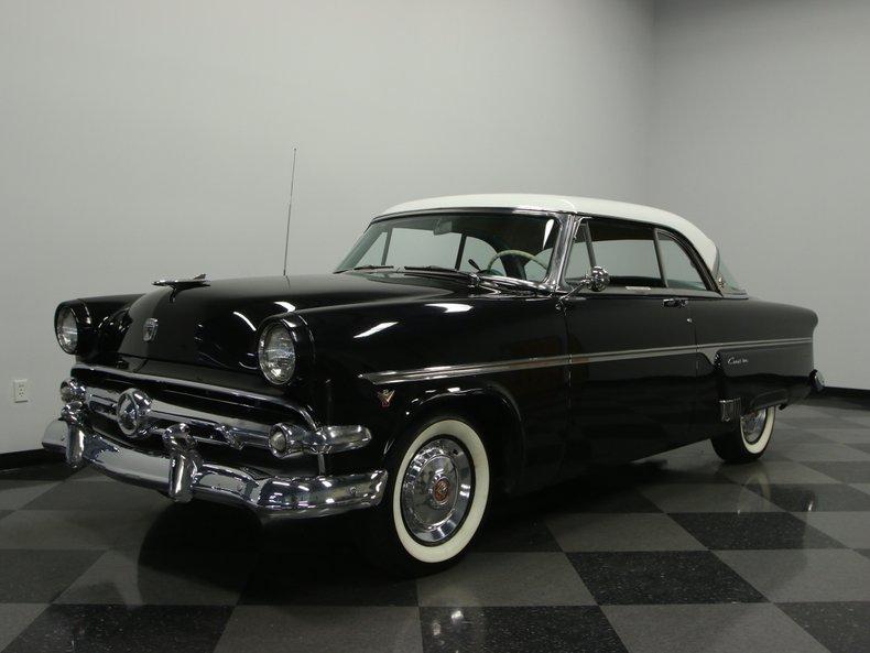 For Sale: 1954 Ford Crestline Victoria