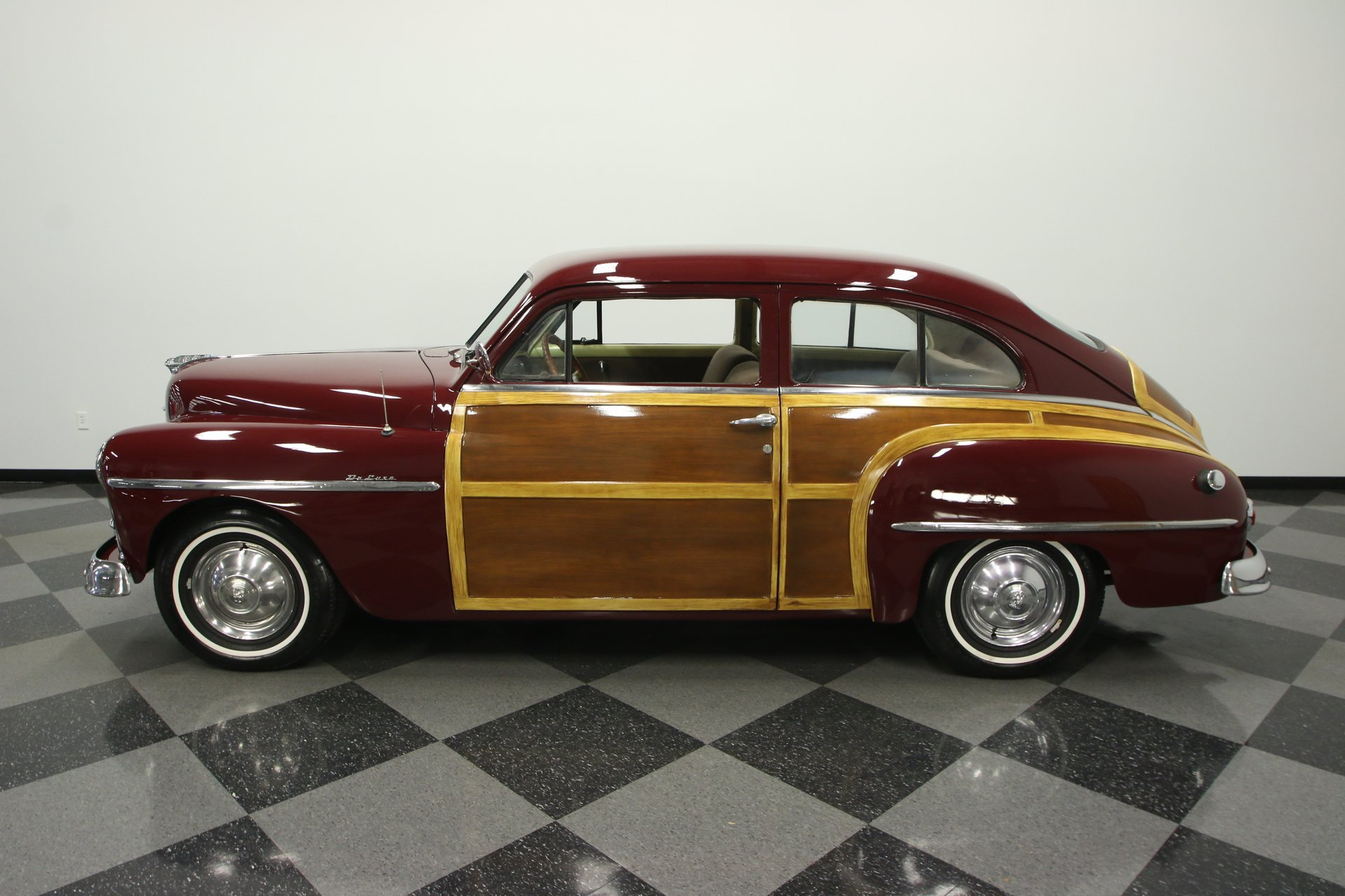 1950 plymouth deluxe slope back