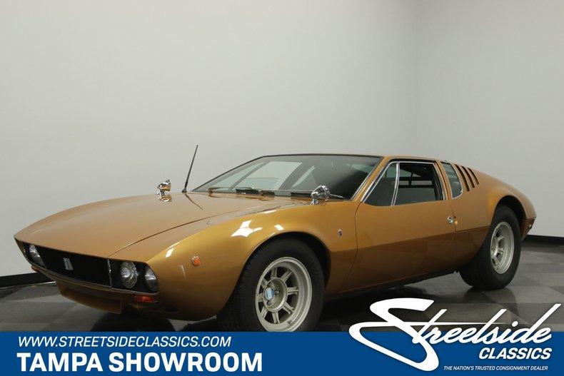 For Sale: 1969 De Tomaso Mangusta