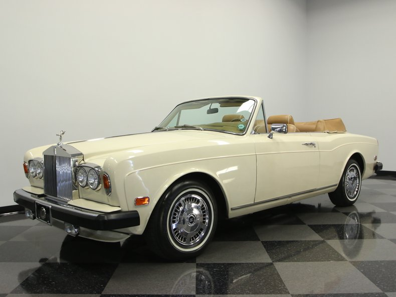 For Sale: 1979 Rolls-Royce Corniche