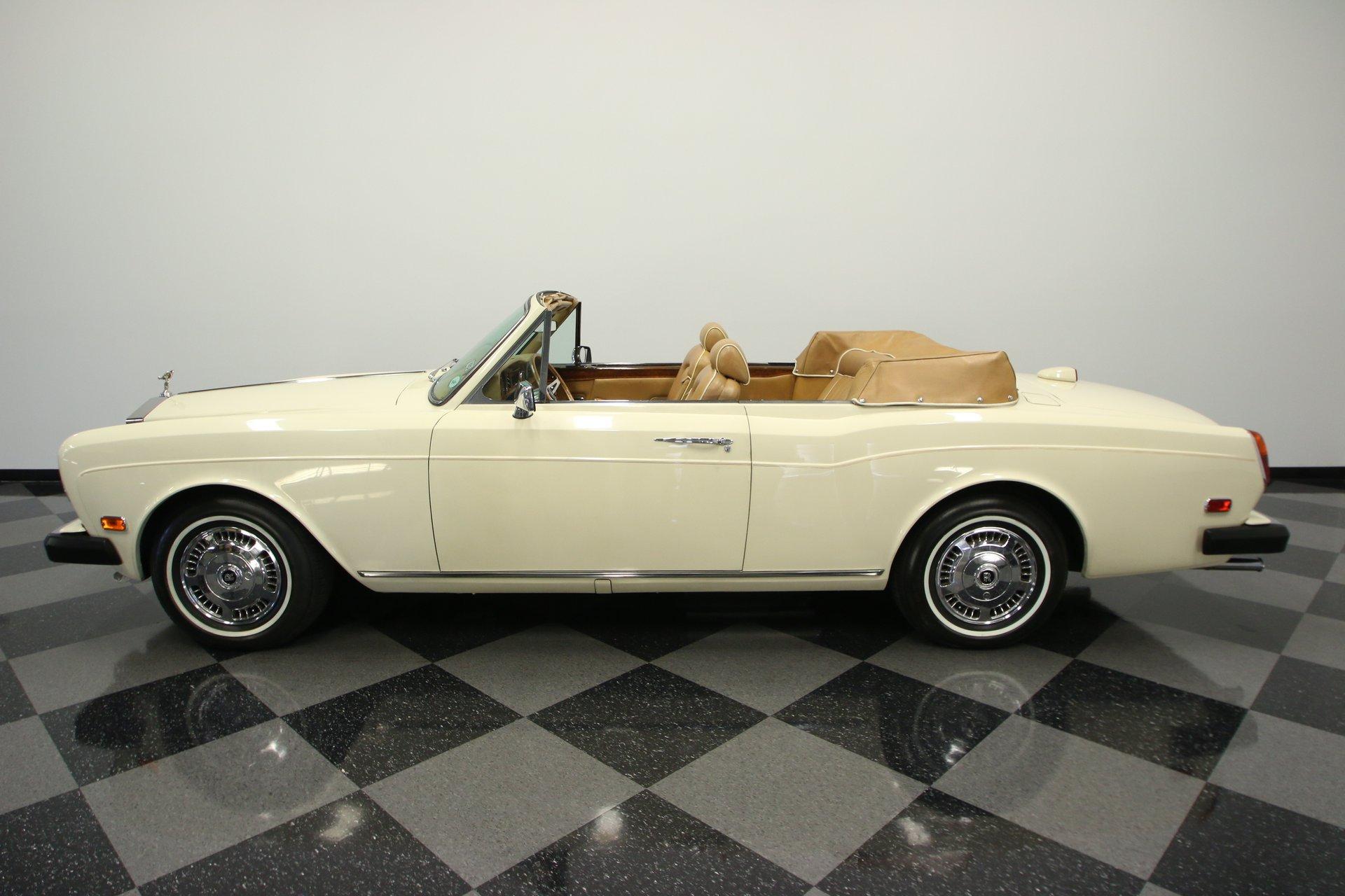 1979 rolls royce corniche convertible