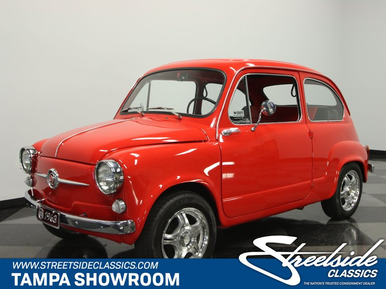 For Sale: 1963 Fiat 600