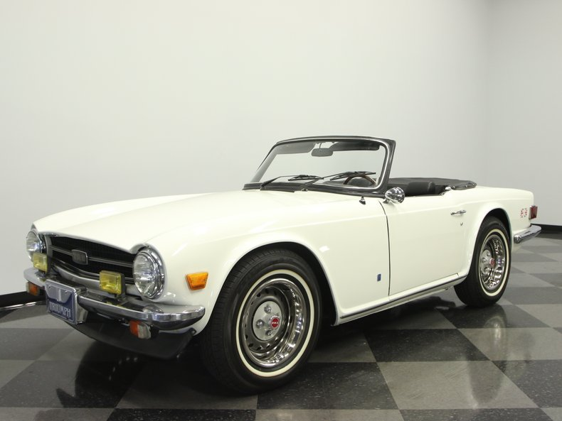 For Sale: 1975 Triumph TR6