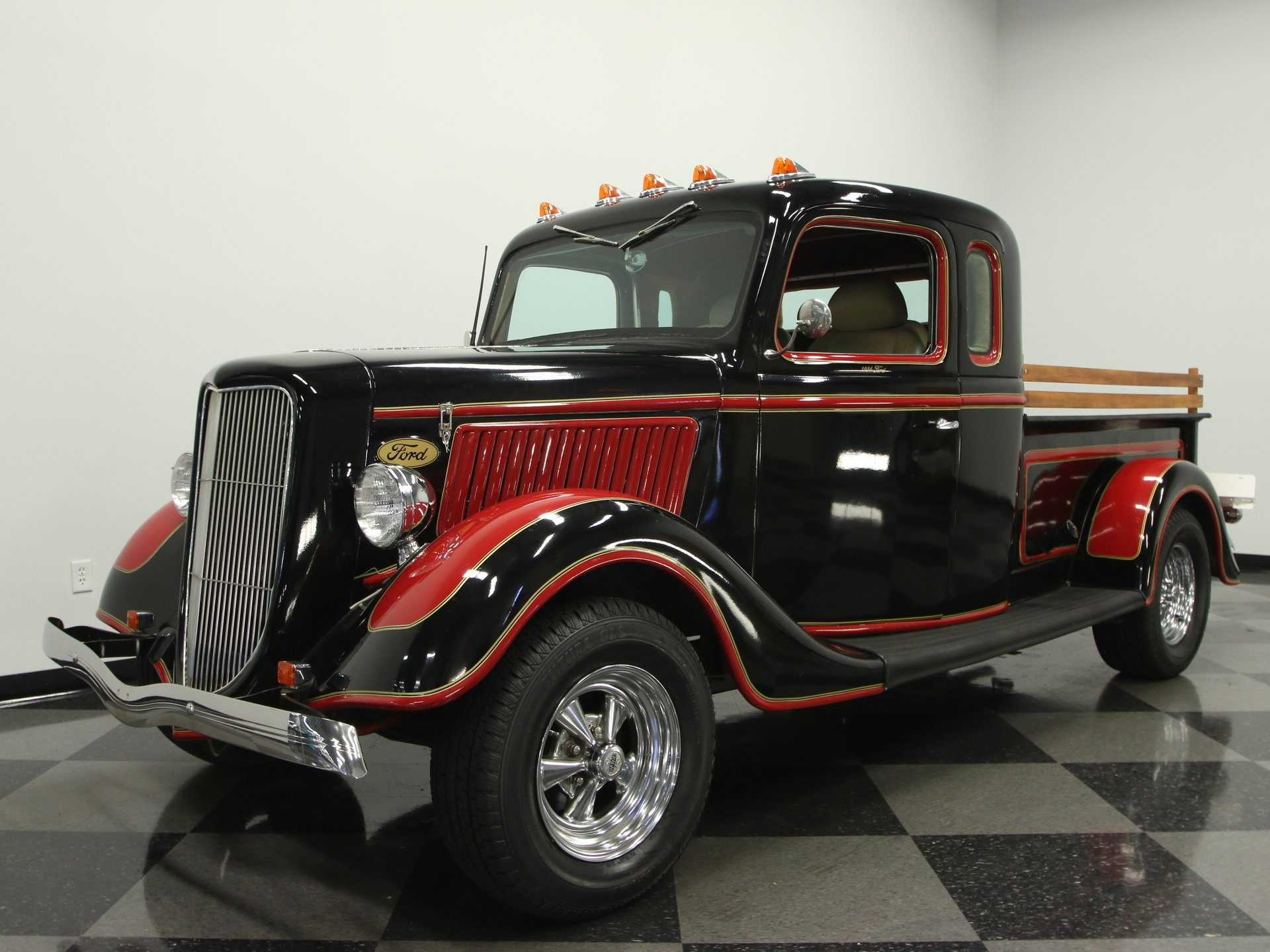1936 ford stretch cab replica