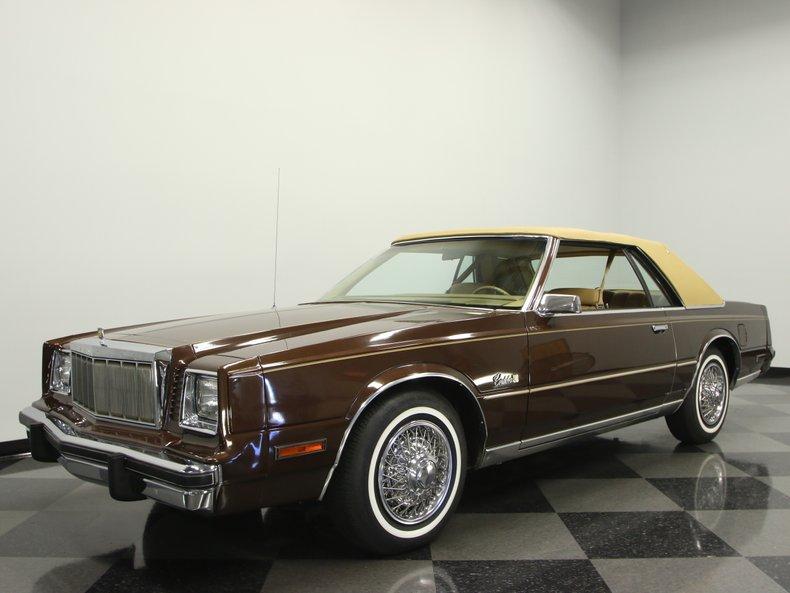 For Sale: 1980 Chrysler Cordoba