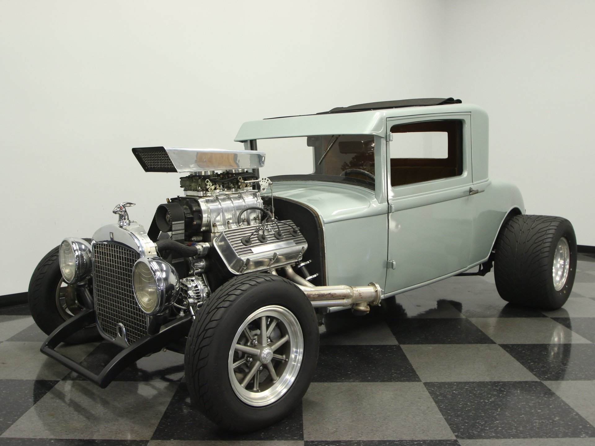 1929 plymouth 3 window coupe