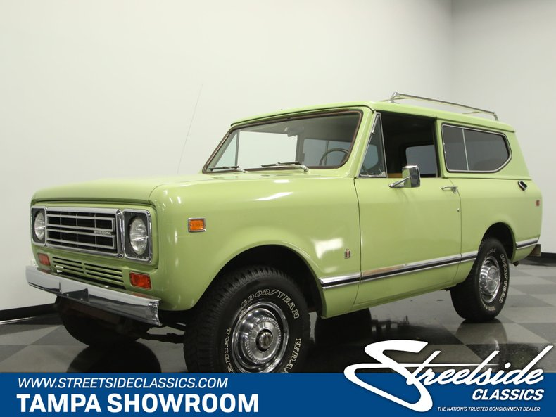 For Sale: 1977 International Harvester Scout
