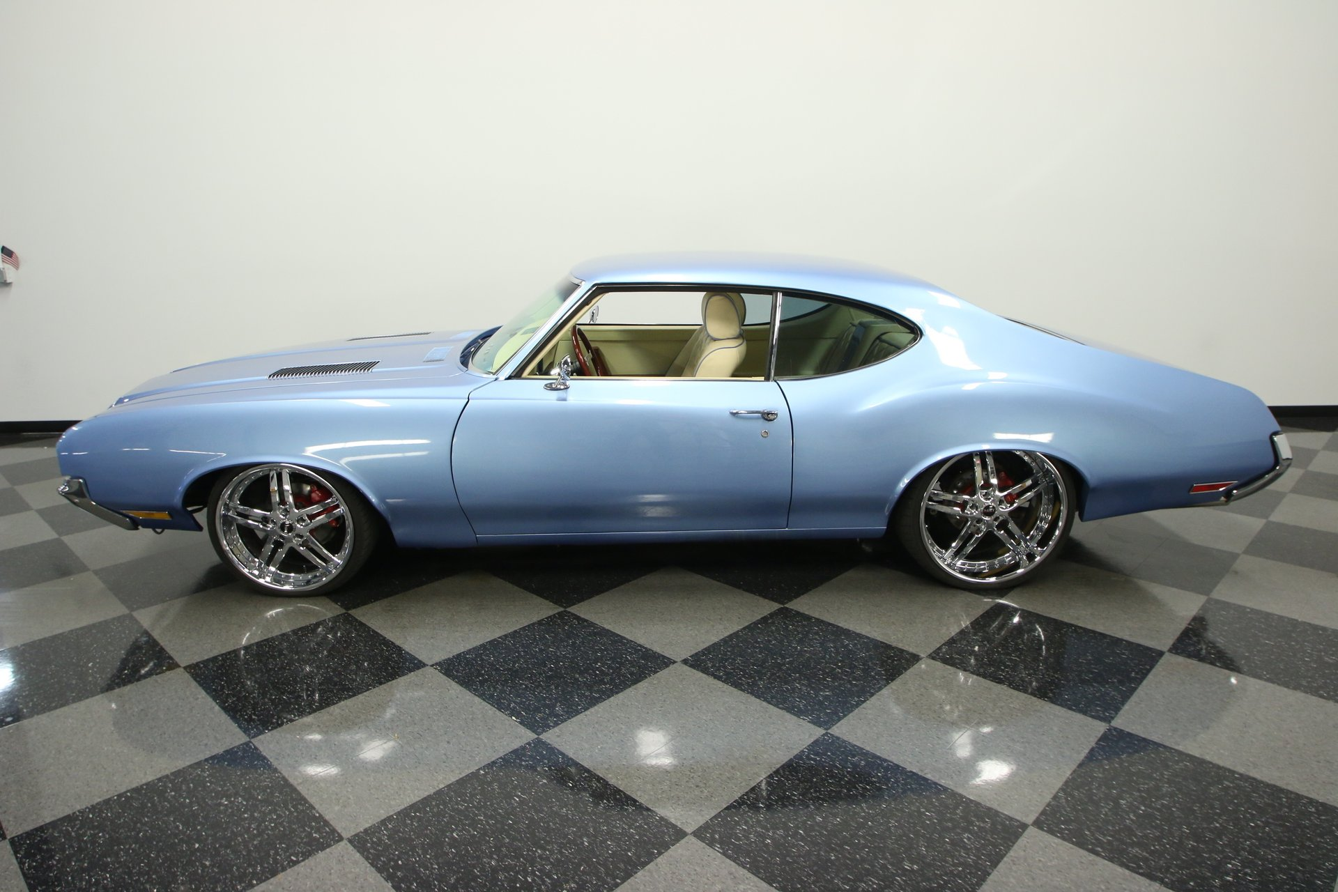 1971 oldsmobile cutlass restomod