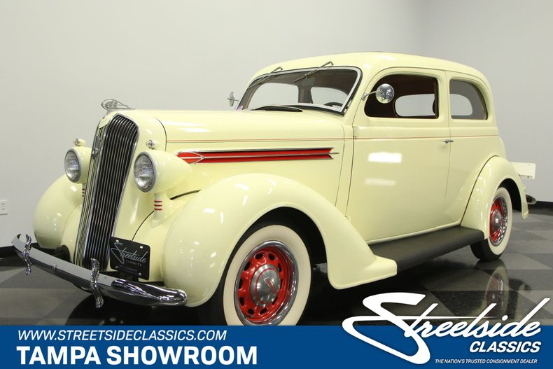 1936 Plymouth 2 Door Touring Sedan For Sale