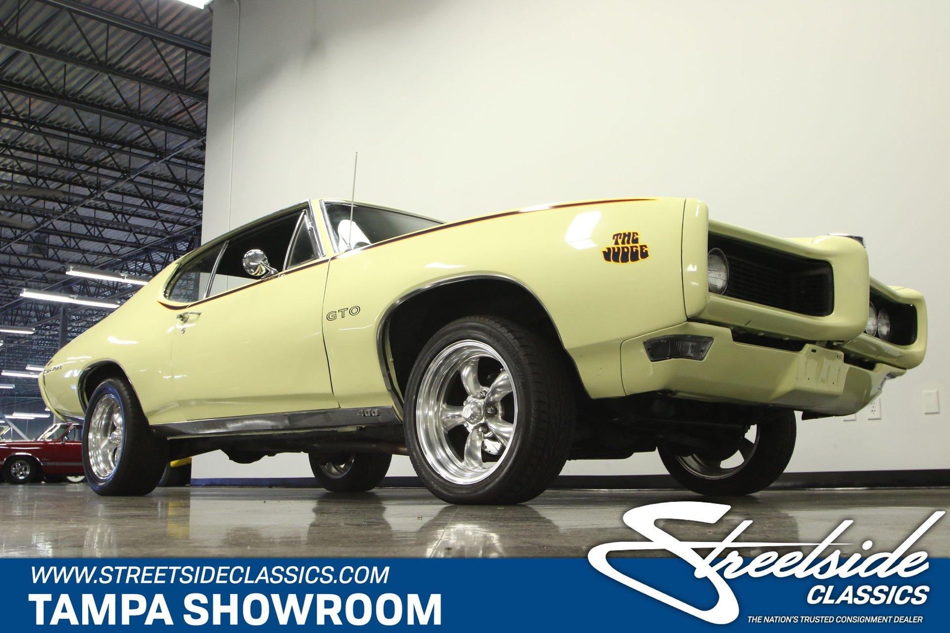 1968 Pontiac GTO   Streetside Classics - The Nation's