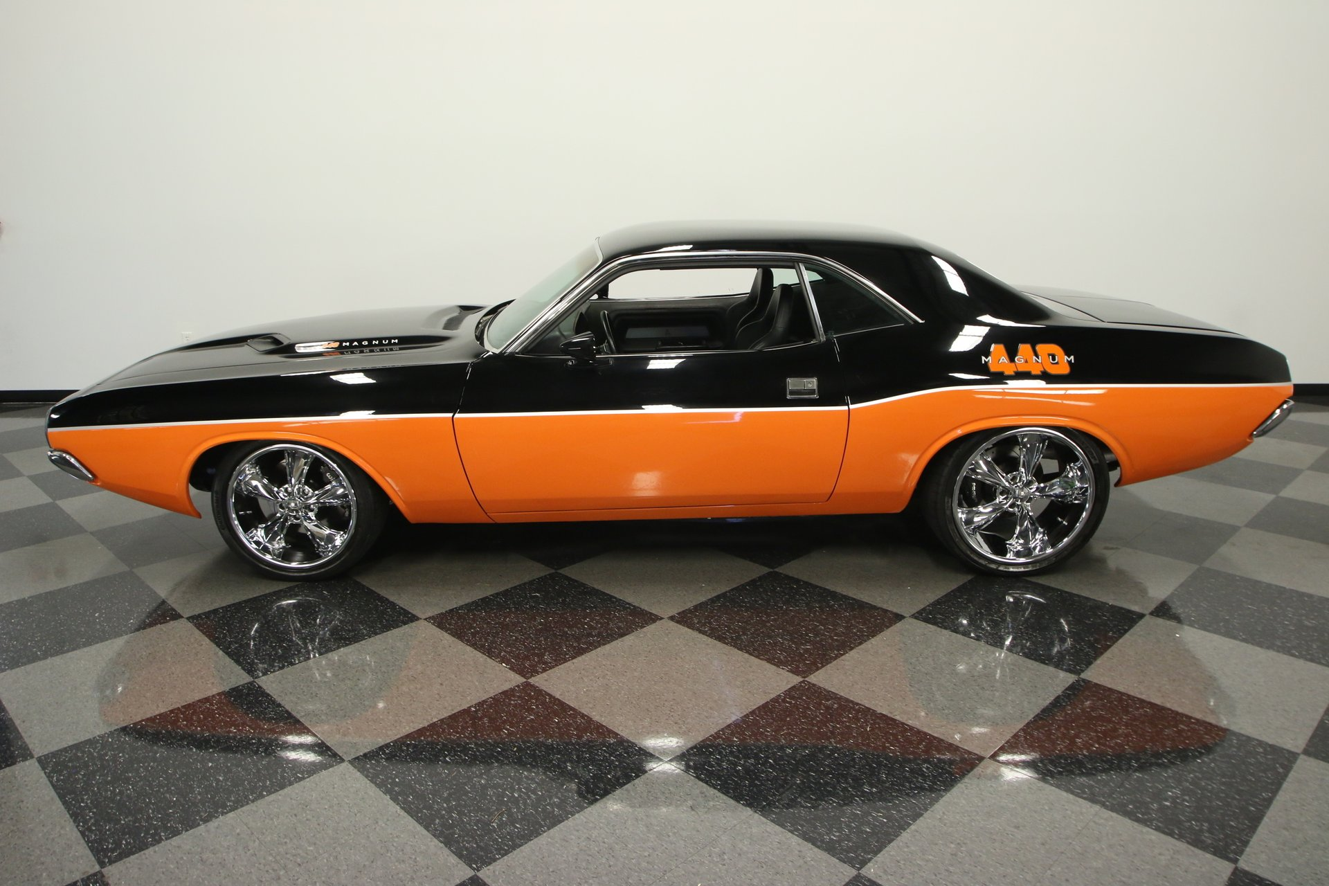 1972 dodge challenger restomod