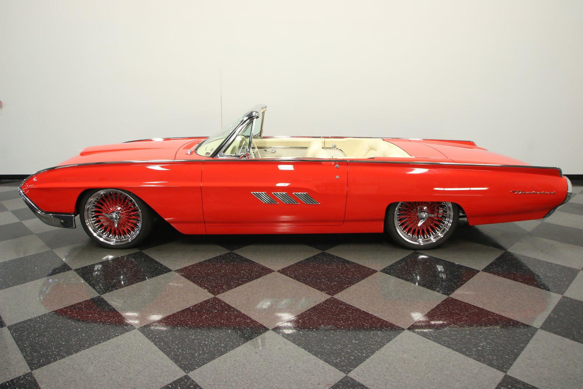 1963 ford thunderbird restomod