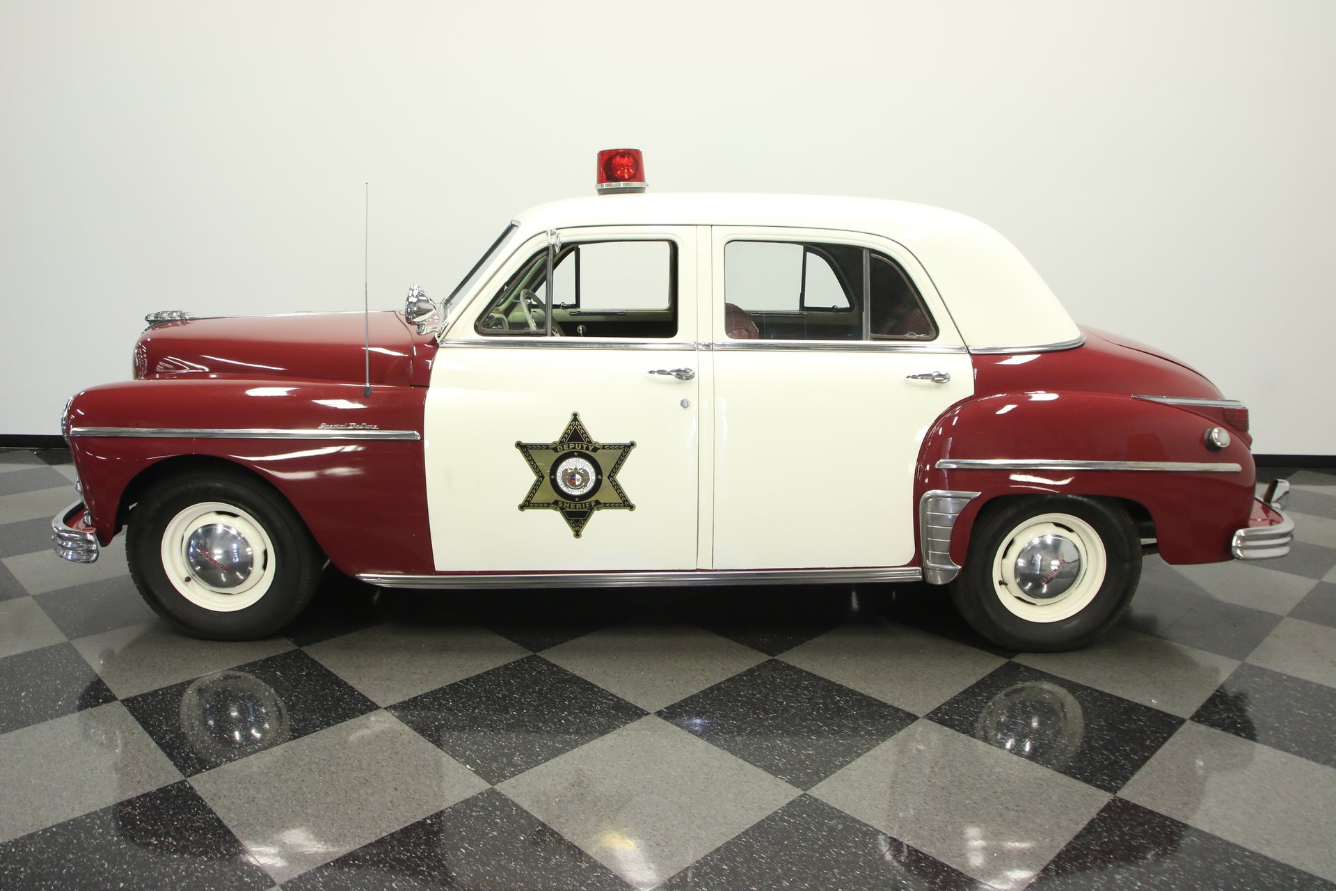 1949 plymouth special deluxe police car