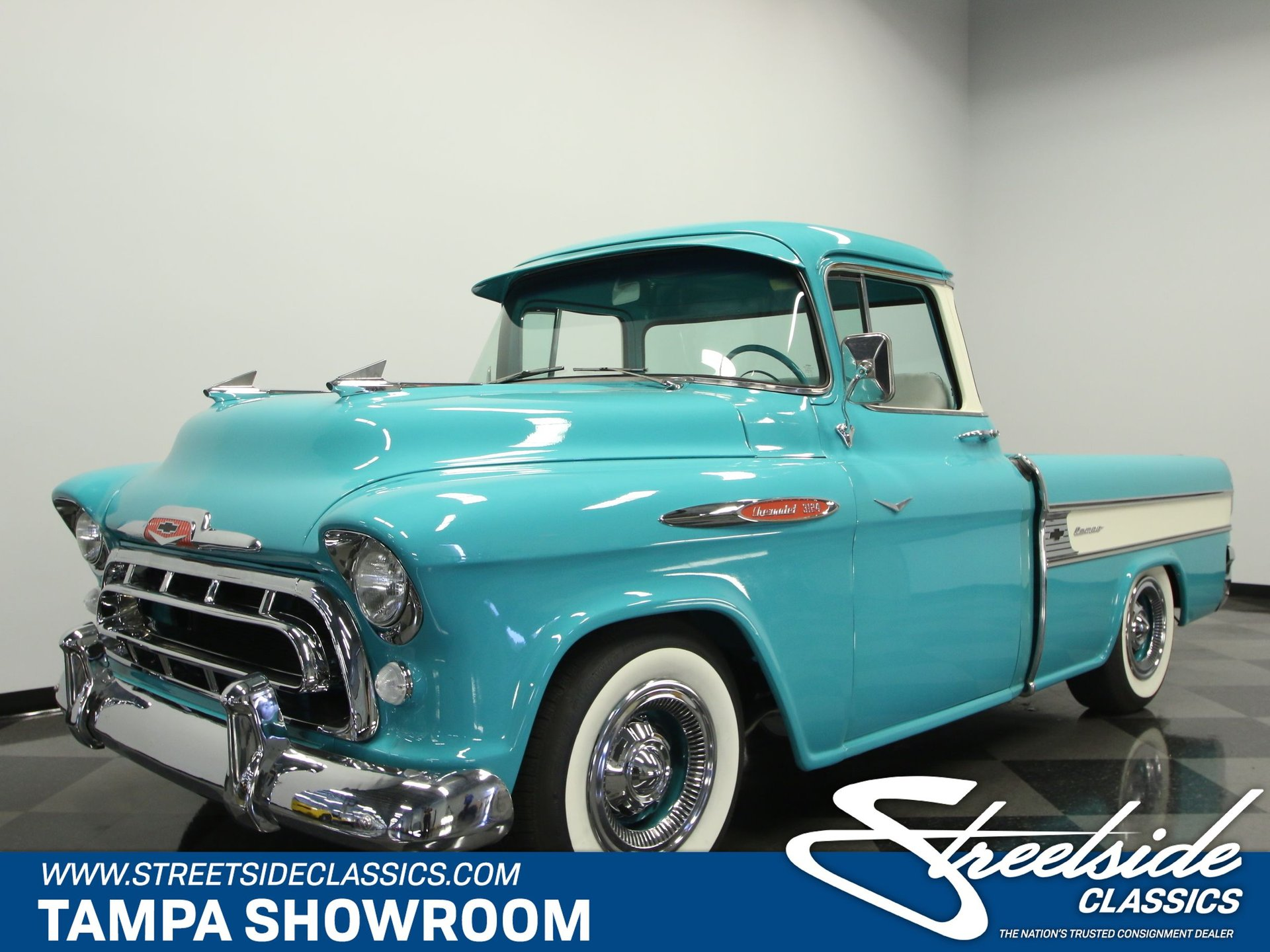 1957 Chevrolet Cameo For Sale 52764 Mcg Chevy Pickup Truck