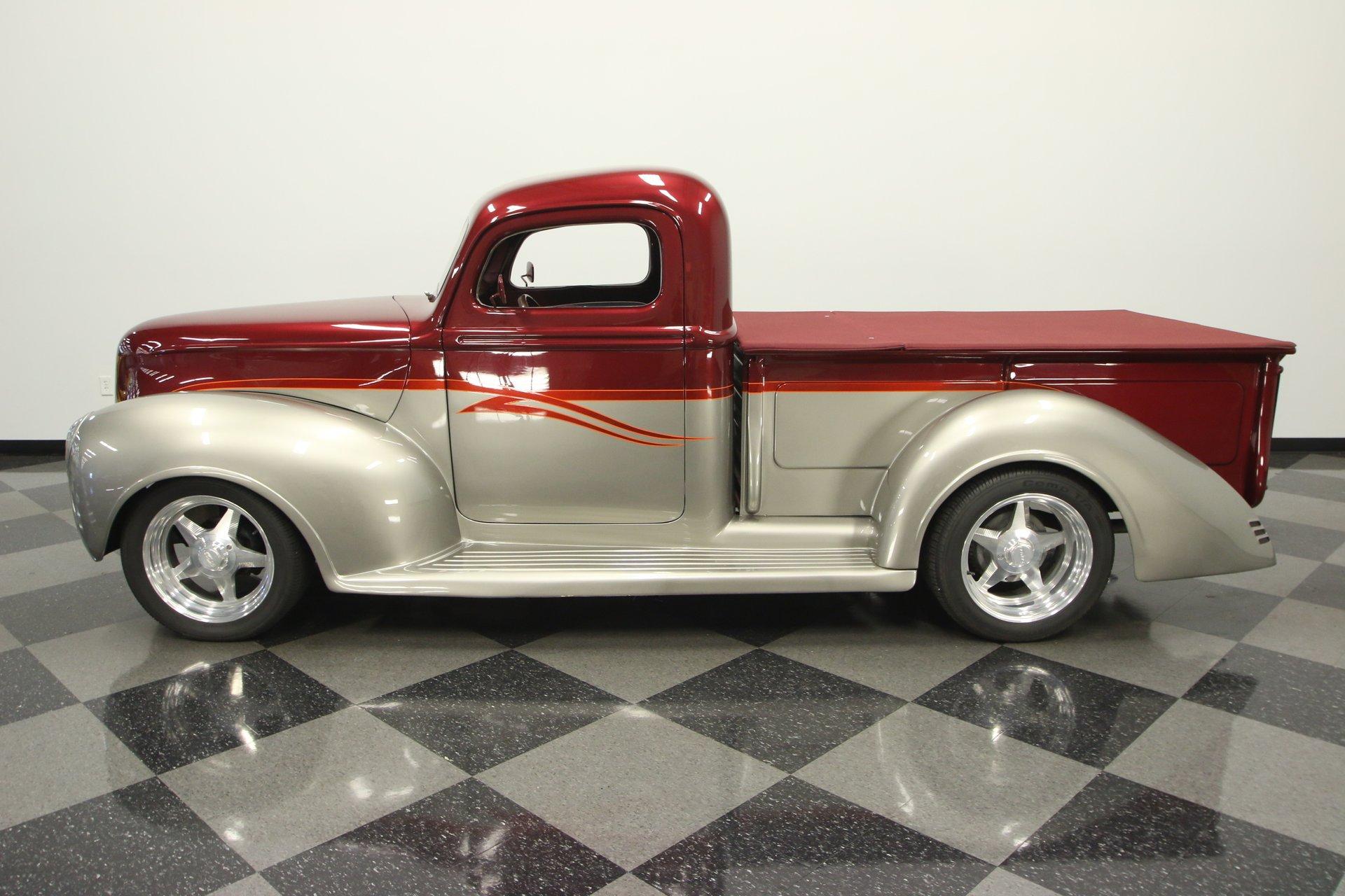 1940 ford pickup custom