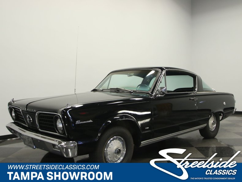 For Sale: 1966 Plymouth Barracuda