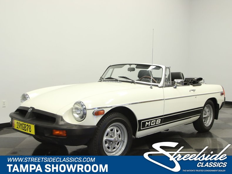 For Sale: 1978 MG B