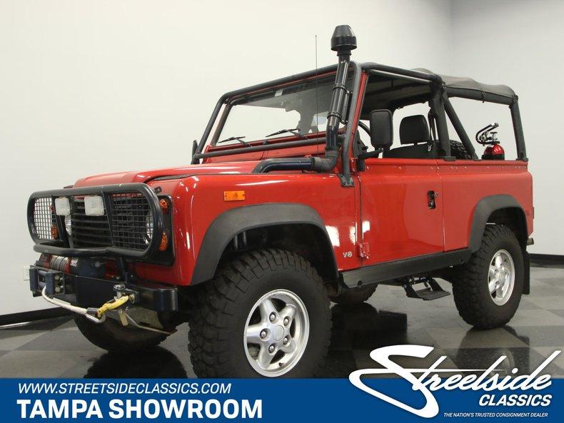 For Sale: 1994 Land Rover Defender