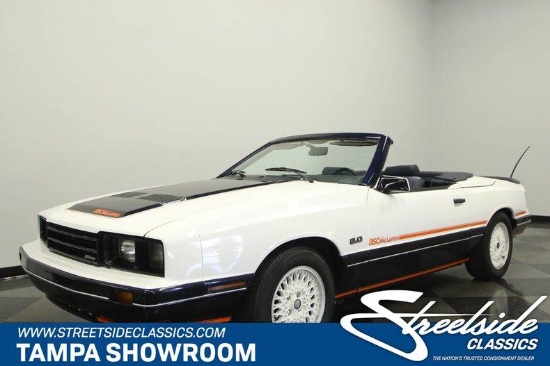 For Sale: 1985 Mercury Capri