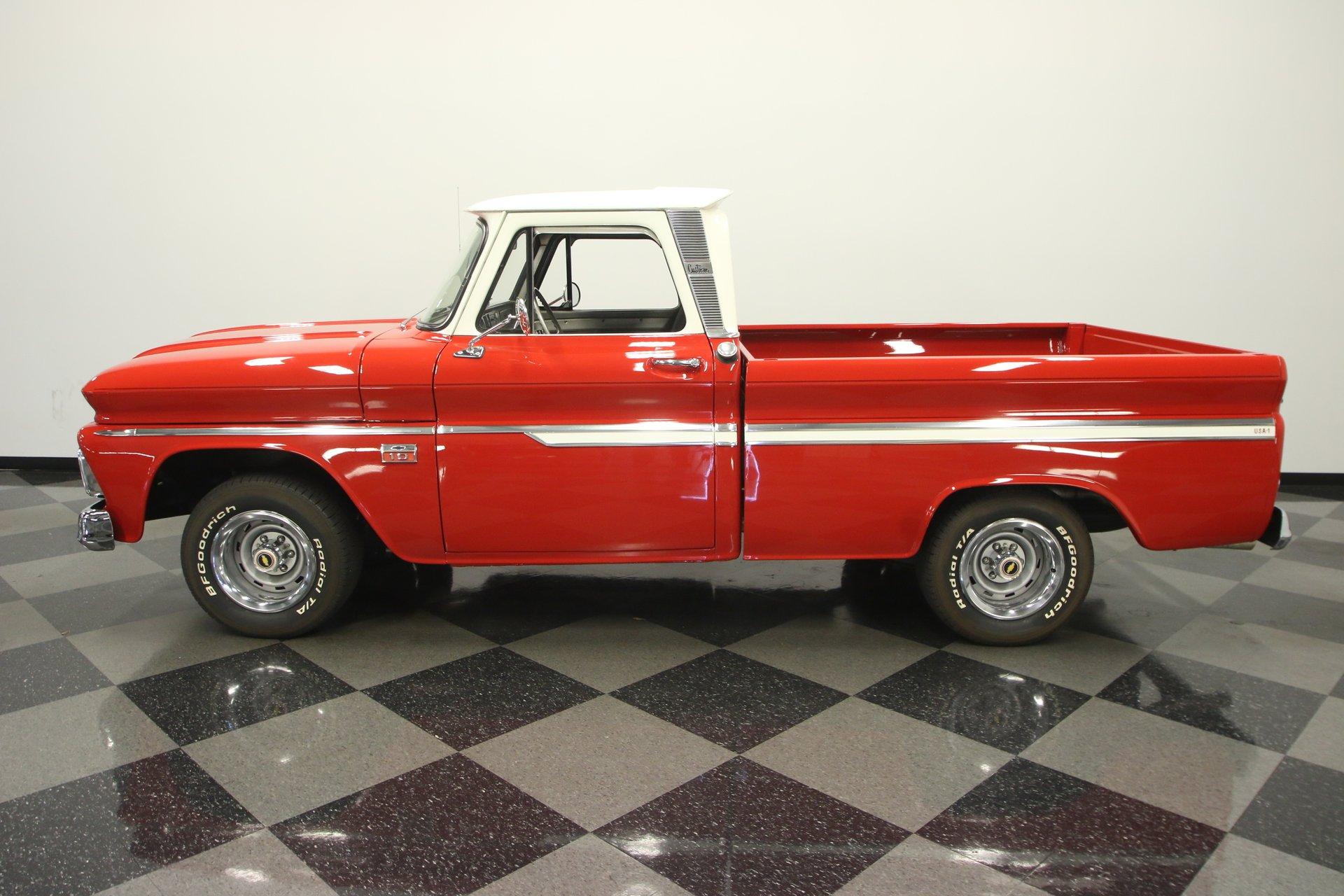 1966 chevrolet c10 custom cab