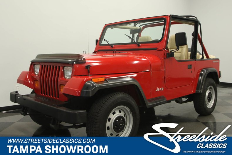 For Sale: 1991 Jeep Wrangler