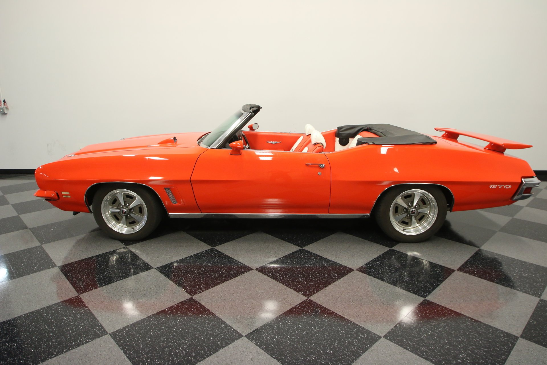 1972 pontiac gto convertible tribute