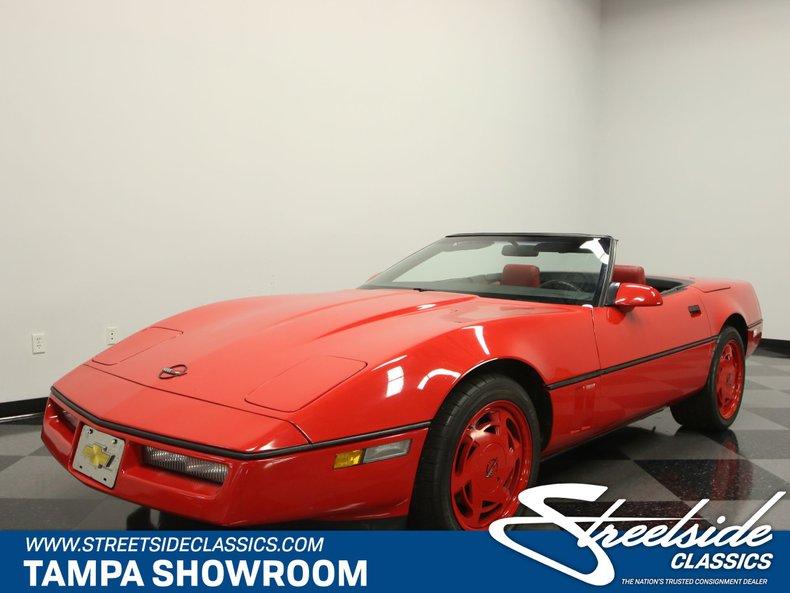 For Sale: 1988 Chevrolet Corvette