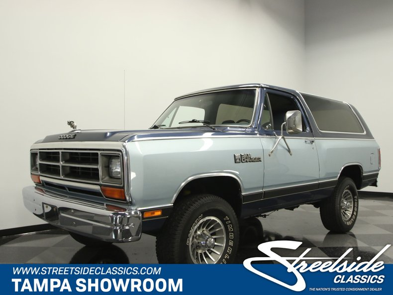 For Sale: 1987 Dodge Ramcharger
