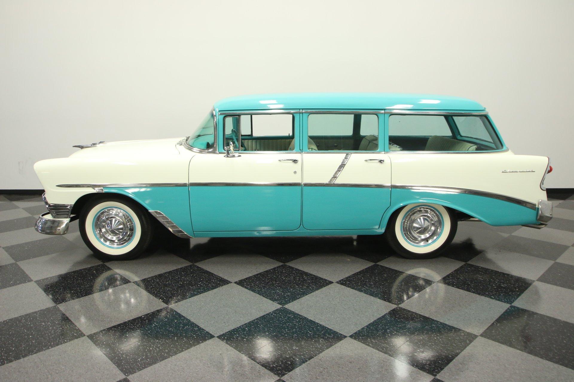1956 chevrolet 210 beauville wagon