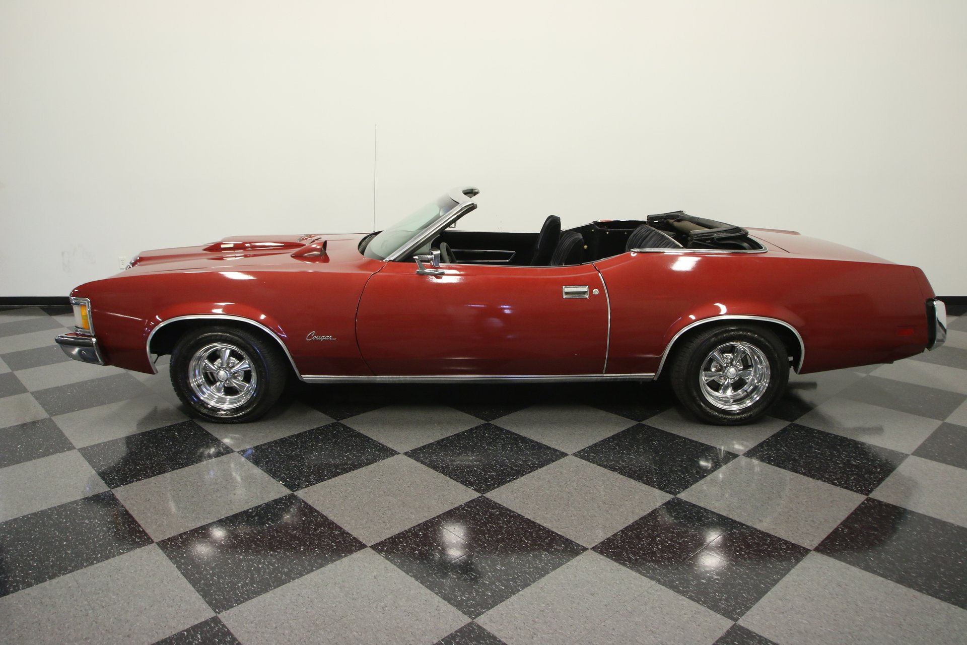 1973 mercury cougar xr7 convertible tribute