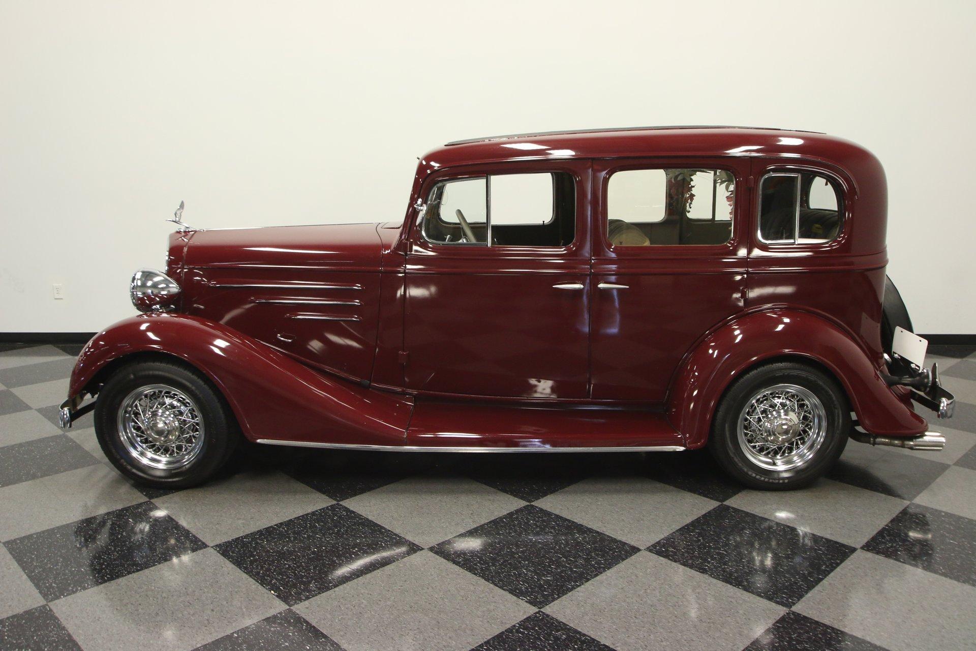 1934 chevrolet standard sedan