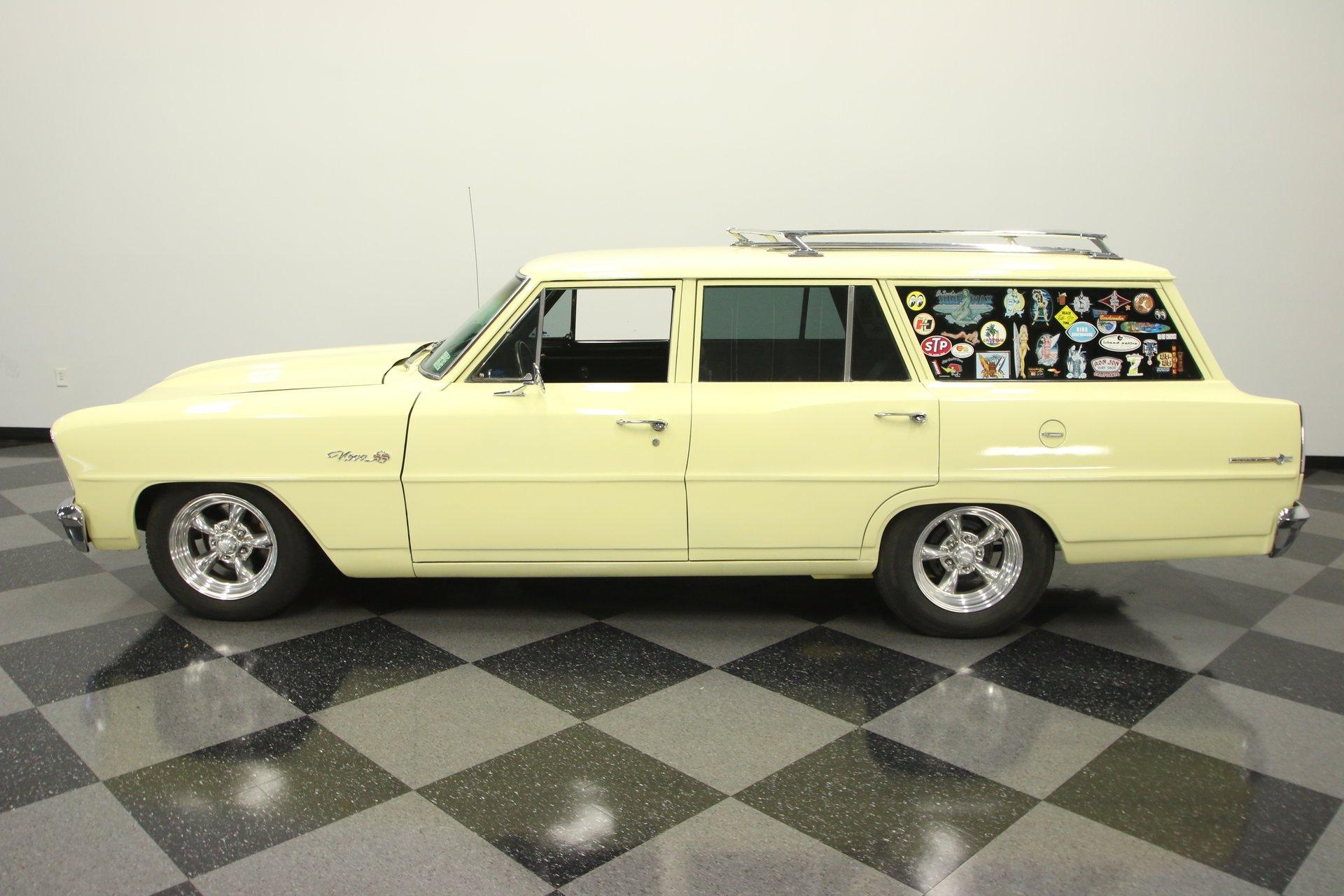 1966 chevrolet nova chevy ii wagon