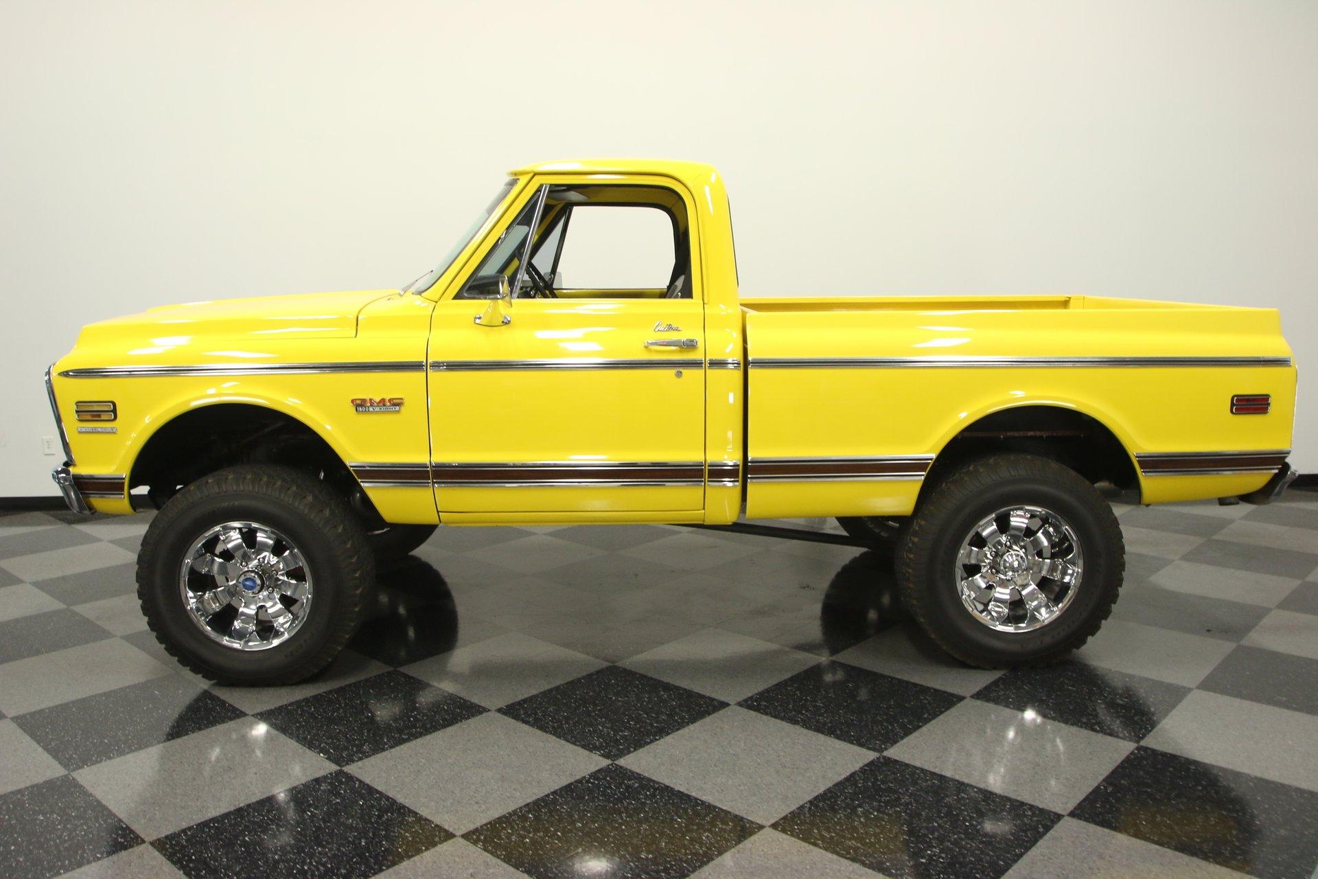 1970 gmc 1500 4x4 custom