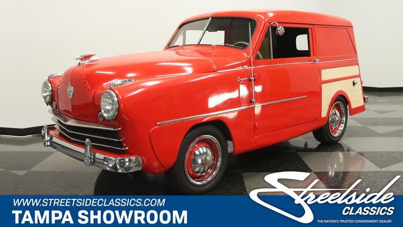 For Sale: 1950 Crosley Super Sedan Delivery