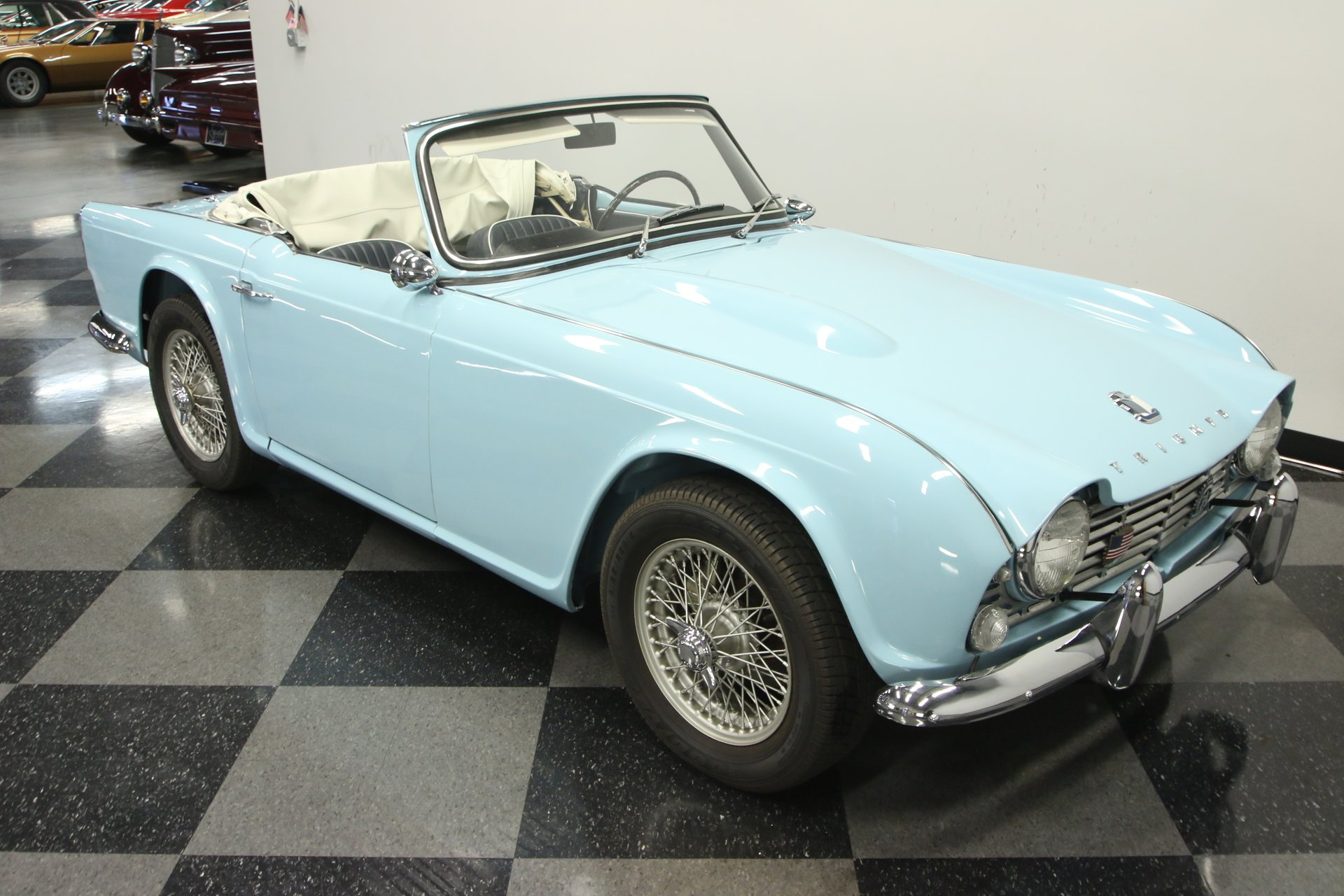 1964 Triumph Tr4 For Sale 73643 Mcg
