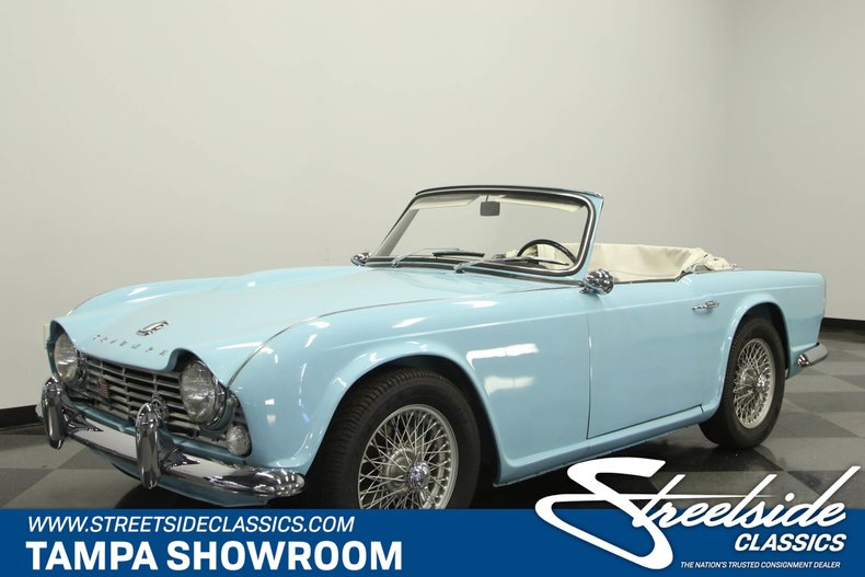For Sale: 1964 Triumph TR4