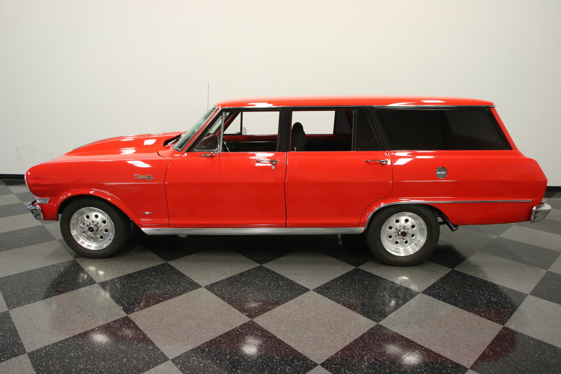 1964 chevrolet nova wagon restomod